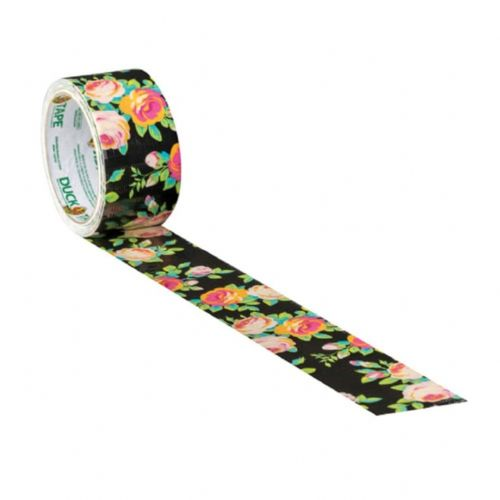Shurtape 241792 Duck Tape Neon Floral 48mm x 9.1m